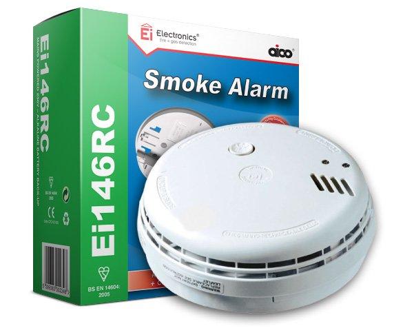 Ei146RC Optical Smoke Alarm • EI Electronics