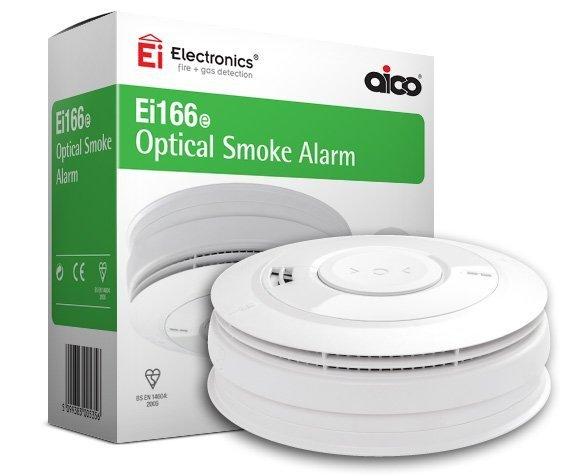 Ei166e Optical Smoke Alarm • EI Electronics